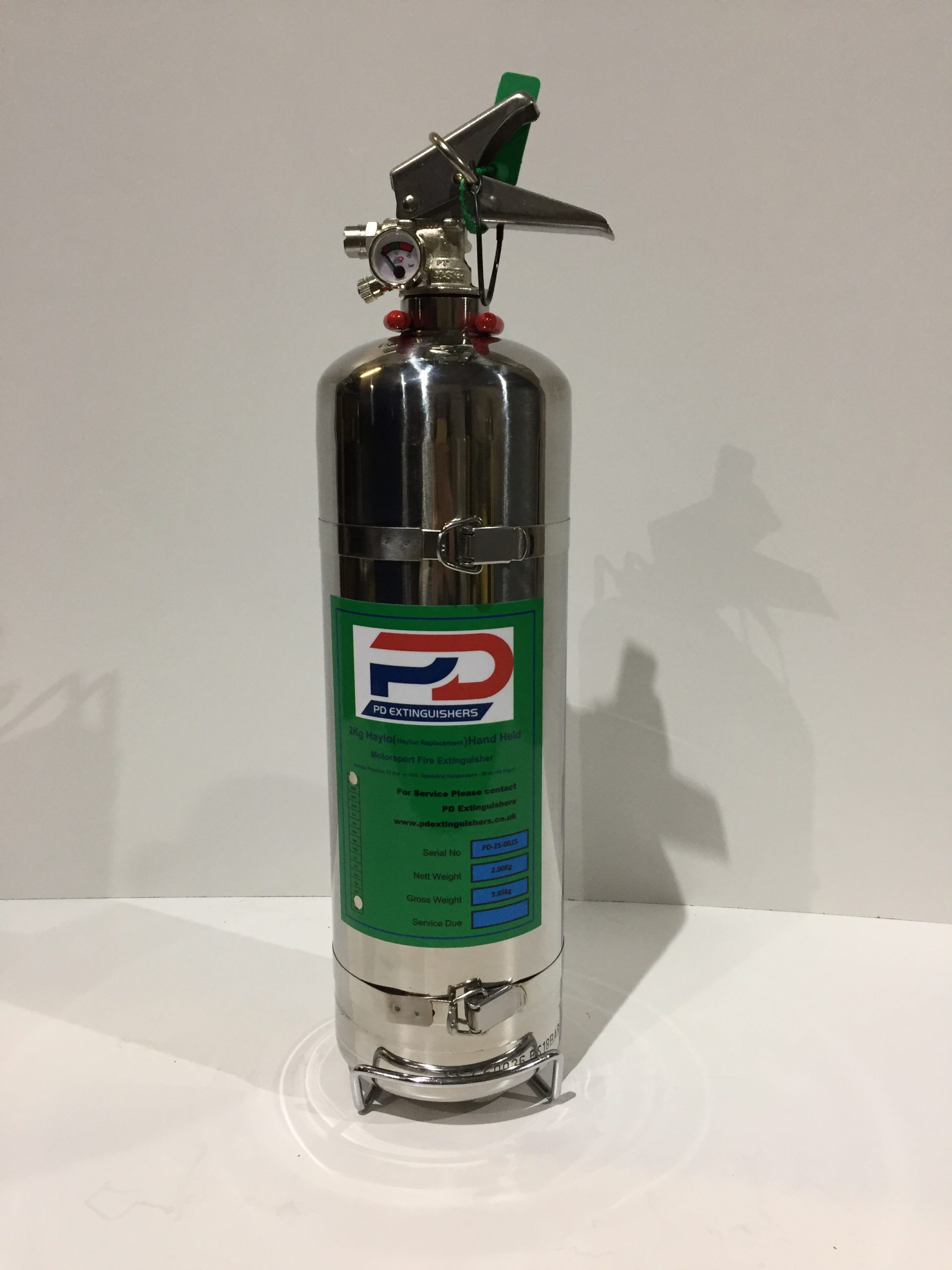 2Kg Haylo Hand Held Fire Extinguisher
