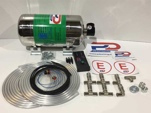 Haylo 4Kg Electrical Stainless Steel System